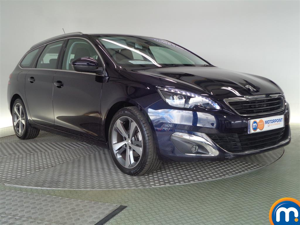 used or nearly new peugeot 308 1 6 hdi 115 allure estate blue for sale in glasgow motorpoint. Black Bedroom Furniture Sets. Home Design Ideas