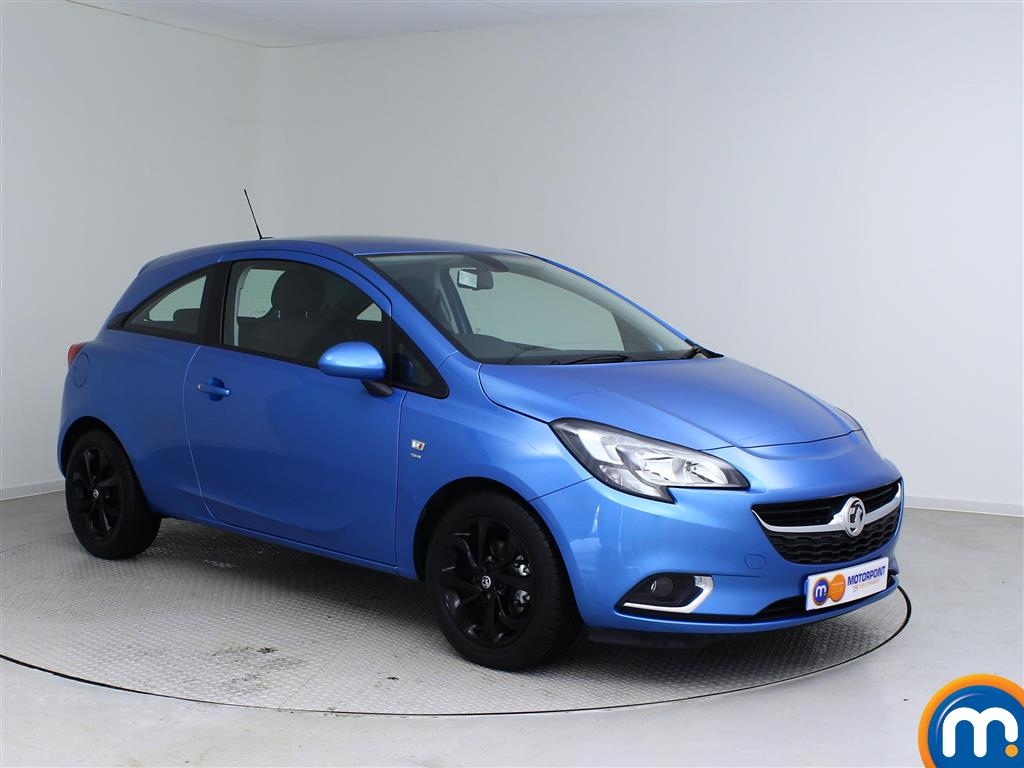 used or nearly new vauxhall corsa 1 4 sri auto 3dr new model persian blue for sale in. Black Bedroom Furniture Sets. Home Design Ideas