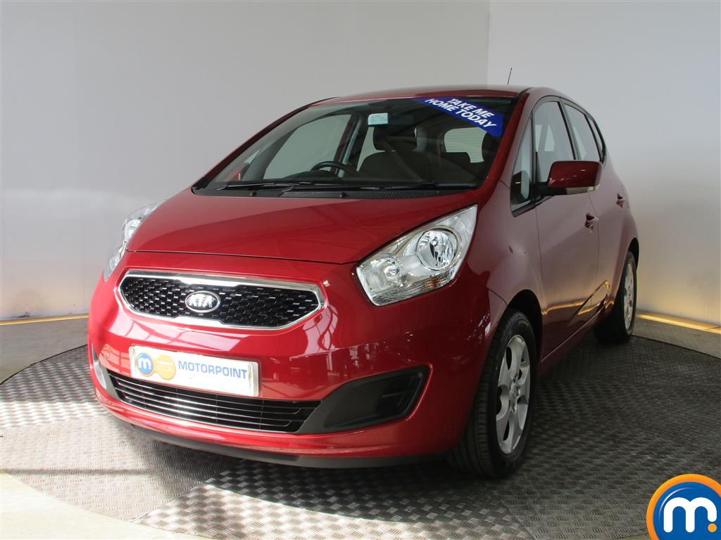 used or nearly new kia venga 1 6 2 5dr auto red for sale in chingford motorpoint. Black Bedroom Furniture Sets. Home Design Ideas