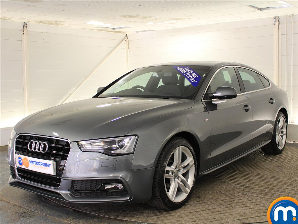 used or nearly new audi a5 2 0 tdi 190 s line 5dr multitronic nav 5 seat white for sale in. Black Bedroom Furniture Sets. Home Design Ideas
