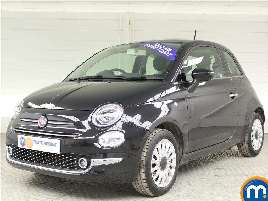 Used or Nearly New FIAT 500 1.2 Lounge 3dr Black for sale in Derby