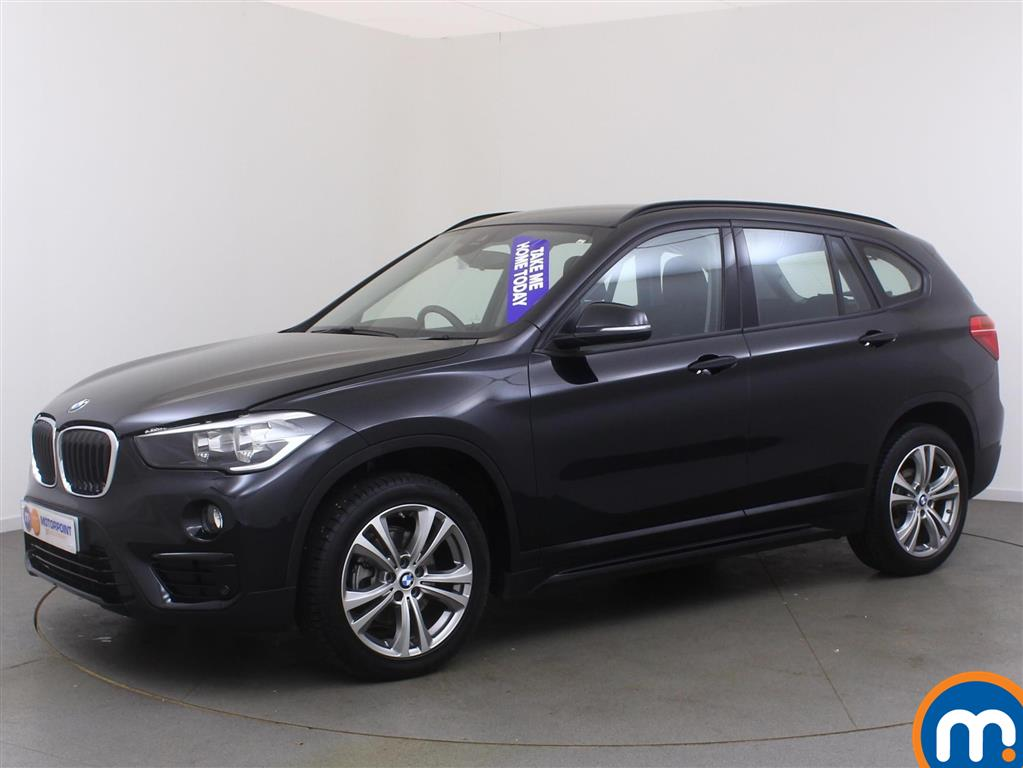 used or nearly new bmw x1 sdrive 18d sport 5dr black for. Black Bedroom Furniture Sets. Home Design Ideas