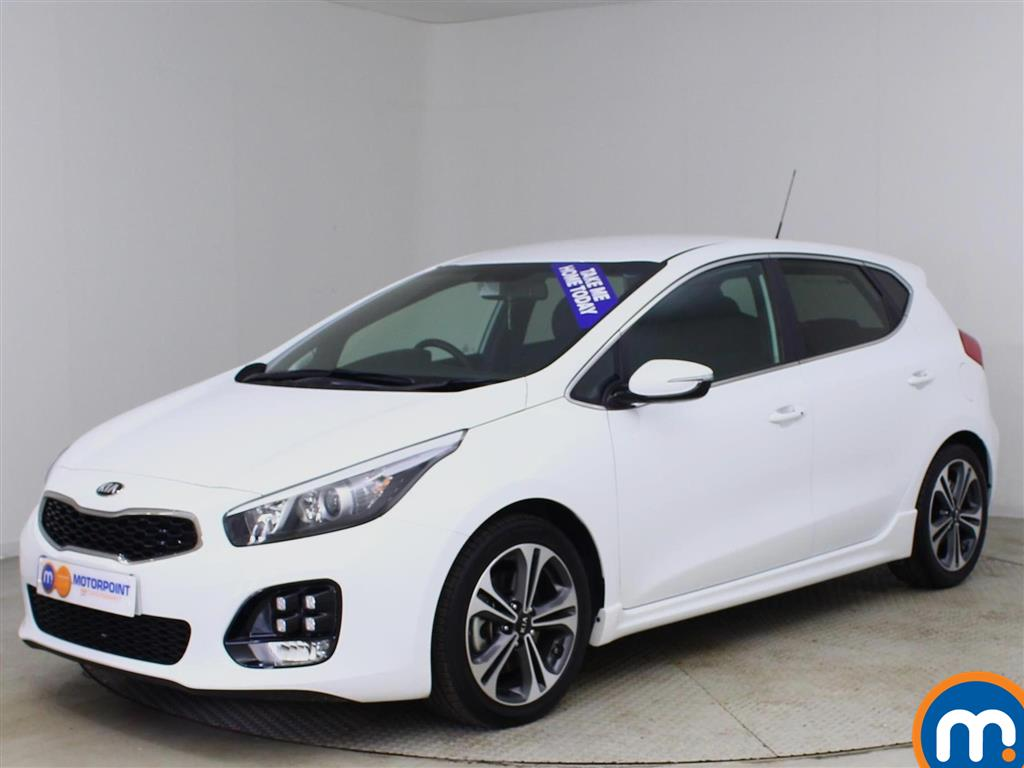 Used or Nearly New KIA CEED 1.6 CRDi ISG GT-Line 5dr White for ...