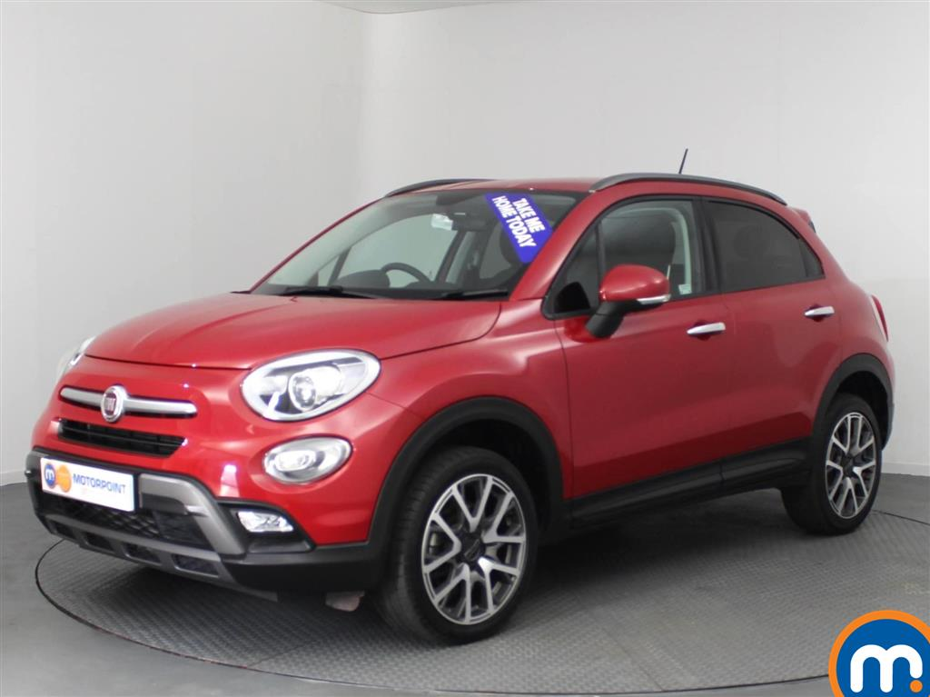 used or nearly new fiat 500x 2 0 multijet 4x4 cross plus 5dr auto red for sale in castleford. Black Bedroom Furniture Sets. Home Design Ideas