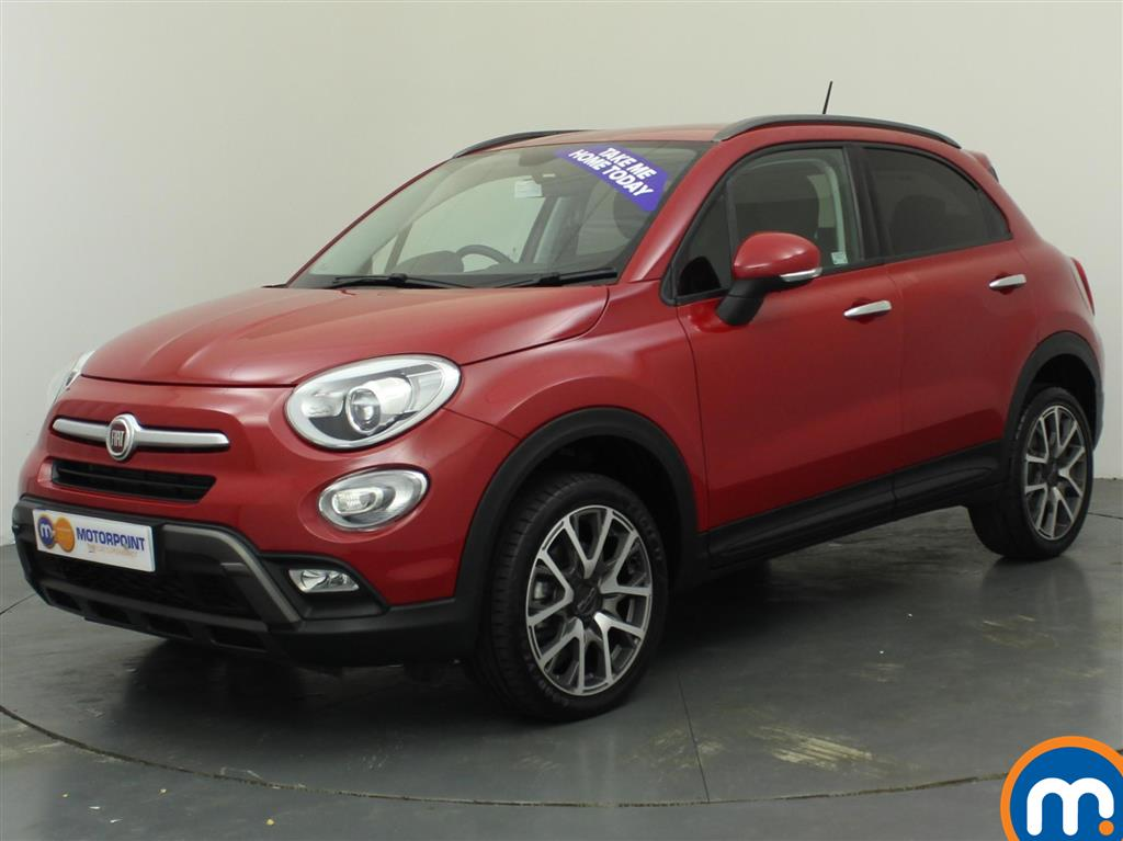 used or nearly new fiat 500x 2 0 multijet 4x4 cross plus 5dr auto red for sale in oldbury. Black Bedroom Furniture Sets. Home Design Ideas