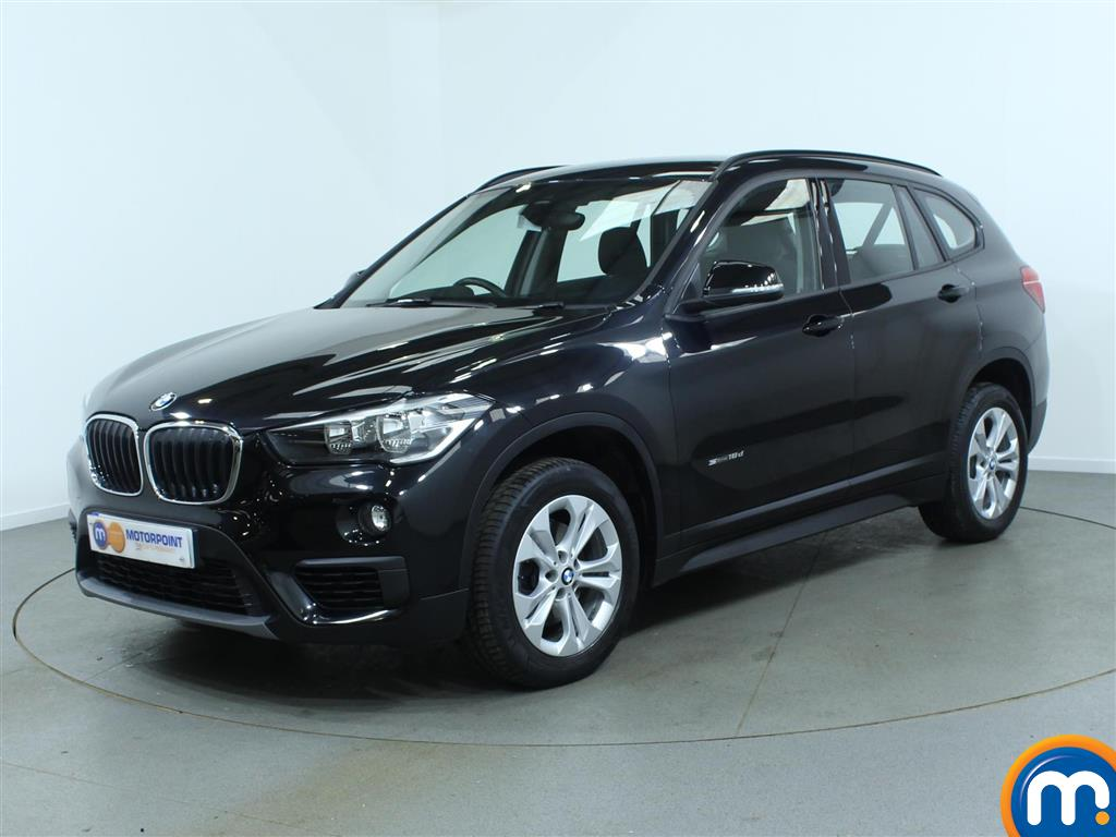 used or nearly new bmw x1 sdrive 18d se 5dr step auto black for sale in burnley motorpoint car. Black Bedroom Furniture Sets. Home Design Ideas