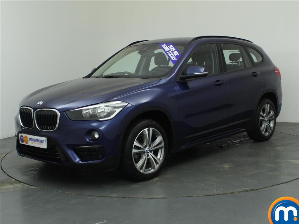 used or nearly new bmw x1 sdrive 18d sport 5dr blue for sale in oldbury motorpoint car supermarket. Black Bedroom Furniture Sets. Home Design Ideas