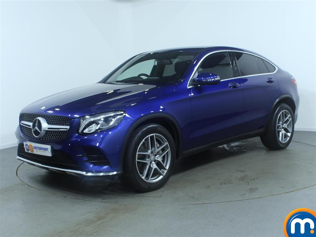used or nearly new mercedes benz glc coupe glc 220d 4matic amg line 5dr 9g tronic blue for sale. Black Bedroom Furniture Sets. Home Design Ideas