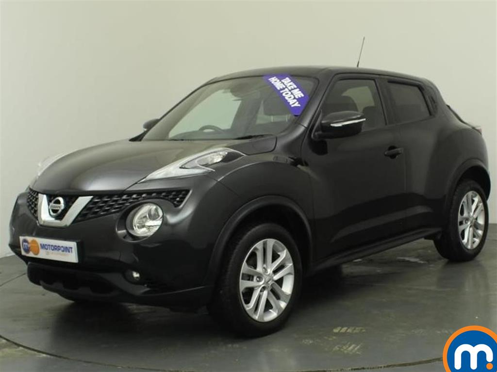 used or nearly new nissan juke 1 5 dci n connecta 5dr black for sale in oldbury motorpoint car. Black Bedroom Furniture Sets. Home Design Ideas