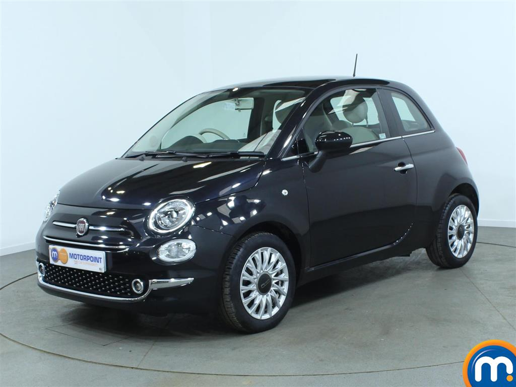 Used or Nearly New FIAT 500 1.2 Lounge 3dr Black for sale in Burnley