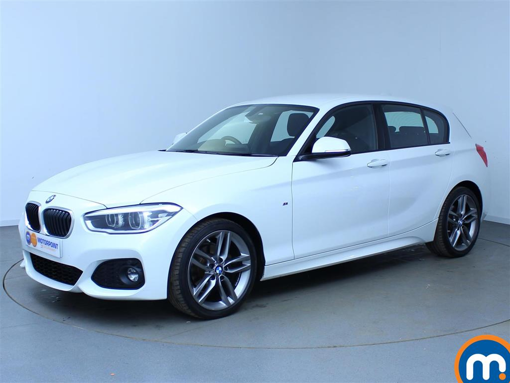 Used Or Nearly New BMW SERIES D M Sport Dr Nav White For - Bmw 1 series diesel