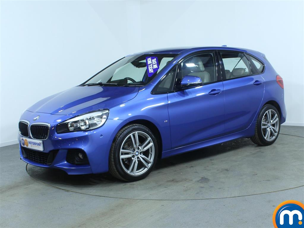 used or nearly new bmw 2 series 216d m sport 5dr nav blue for sale in burnley motorpoint car. Black Bedroom Furniture Sets. Home Design Ideas