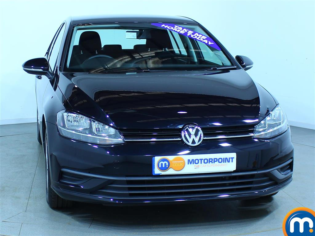 Used or Nearly New Volkswagen Golf 1.0 TSI S 5dr Black for sale in